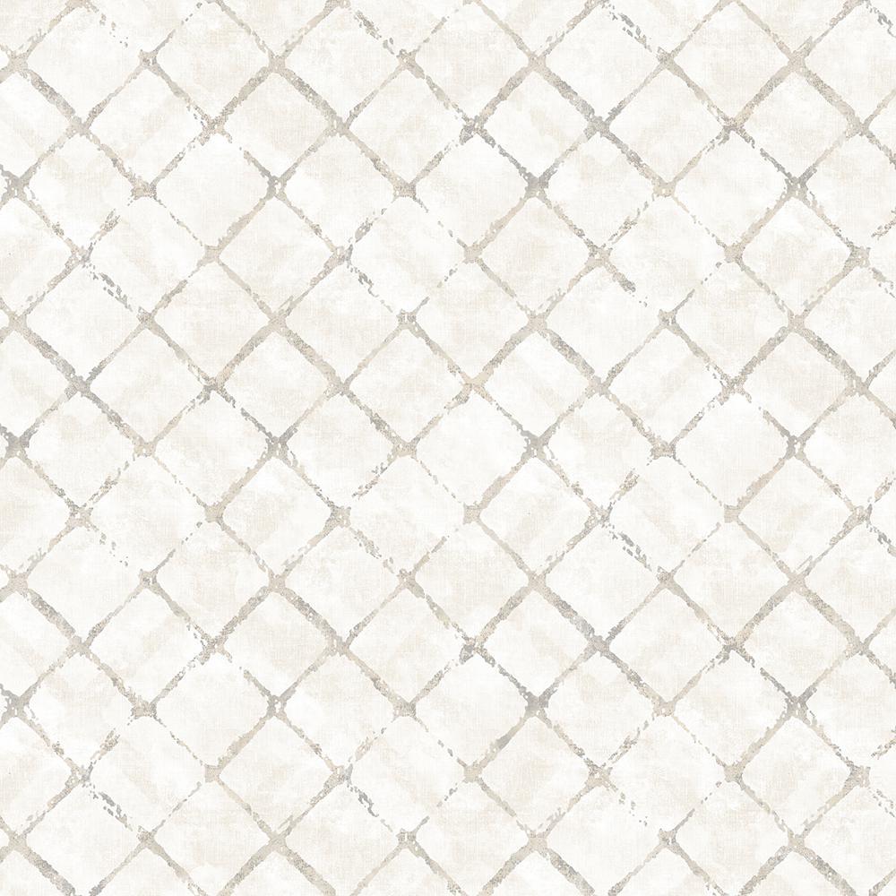 Farmhouse Brick Wallpaper Black Charcoal Carbon Norwall Wallcovering FH37519