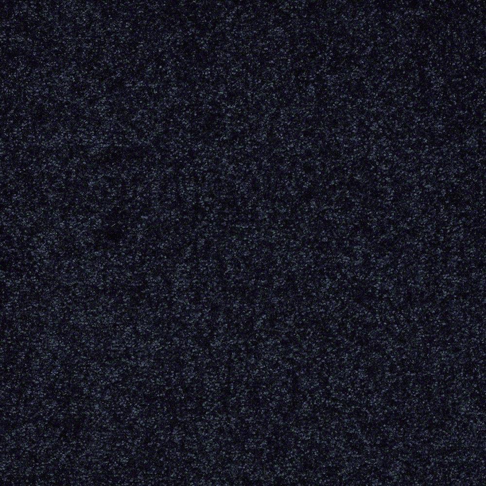 Carpet Sample - Full Bloom II 12 - In Color Winter Night 8 in. x 8 in.