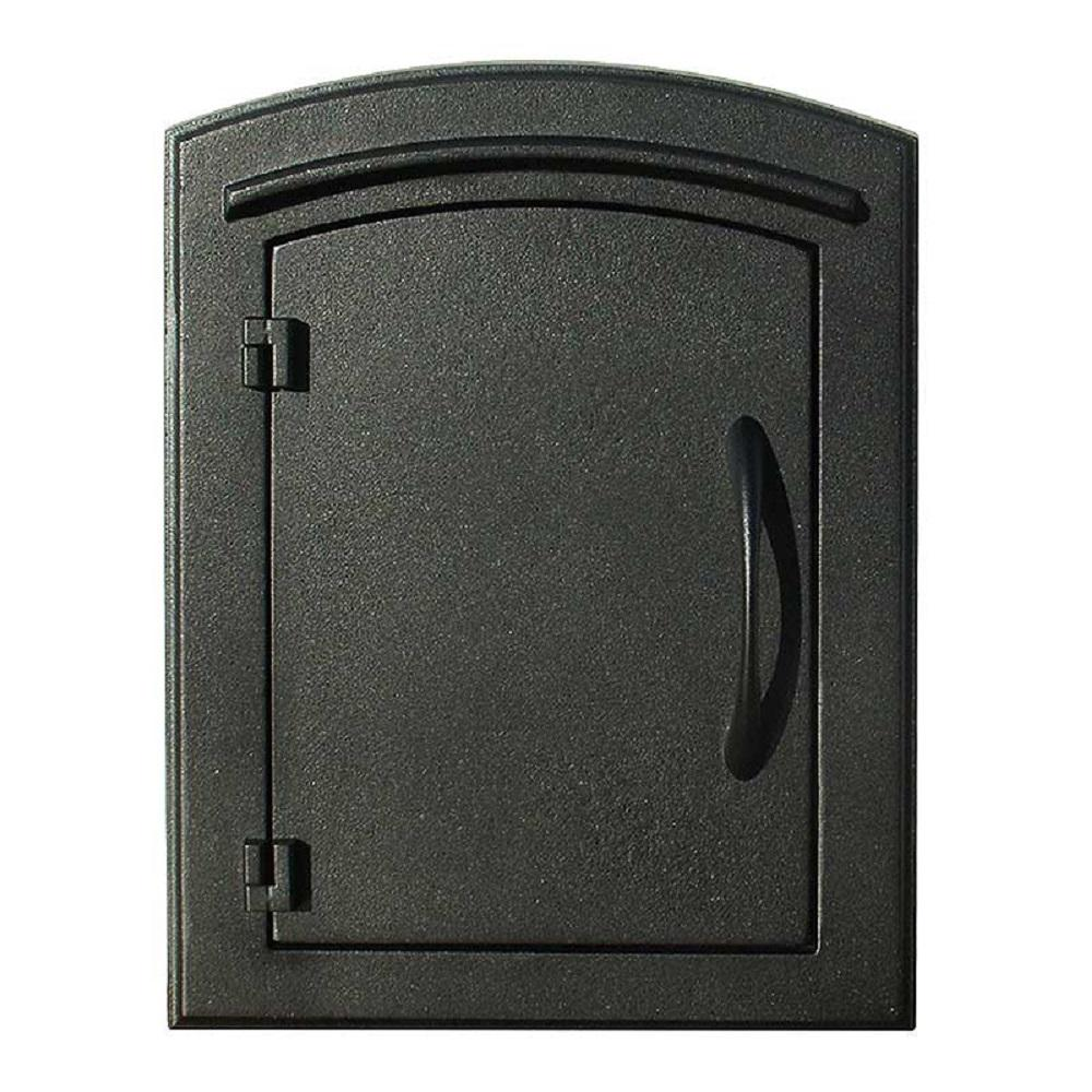 QualArc Manchester Non-Locking Column-Mount Mailbox