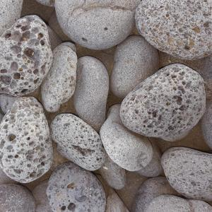 0.50 cu. ft. 40 lb. 2 in. to 3 in. Black Mexican Beach Lava Rock