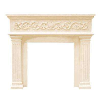 Designer Series Michael Angelo 47 in. x 53 in. Cast Stone Mantel