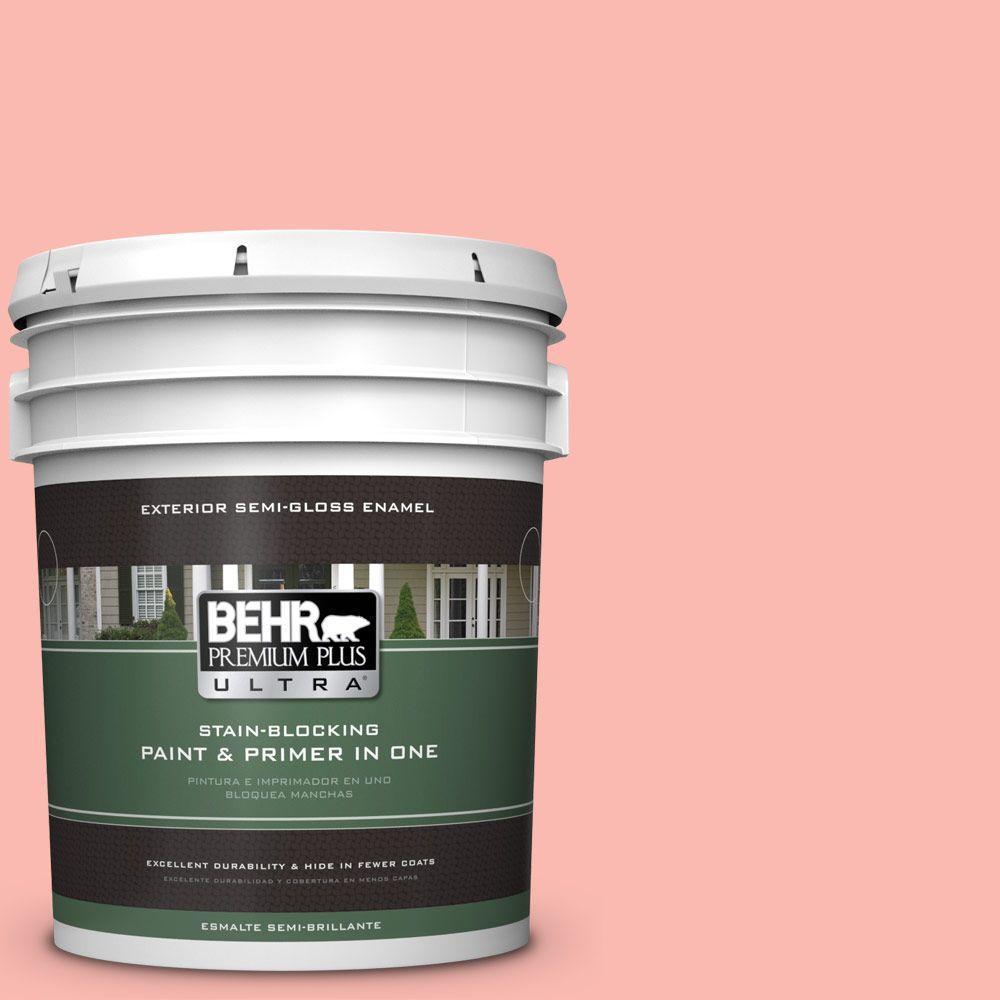 BEHR Premium Plus Ultra 5-gal. #170A-3 Ruffles Semi-Gloss Enamel Exterior Paint