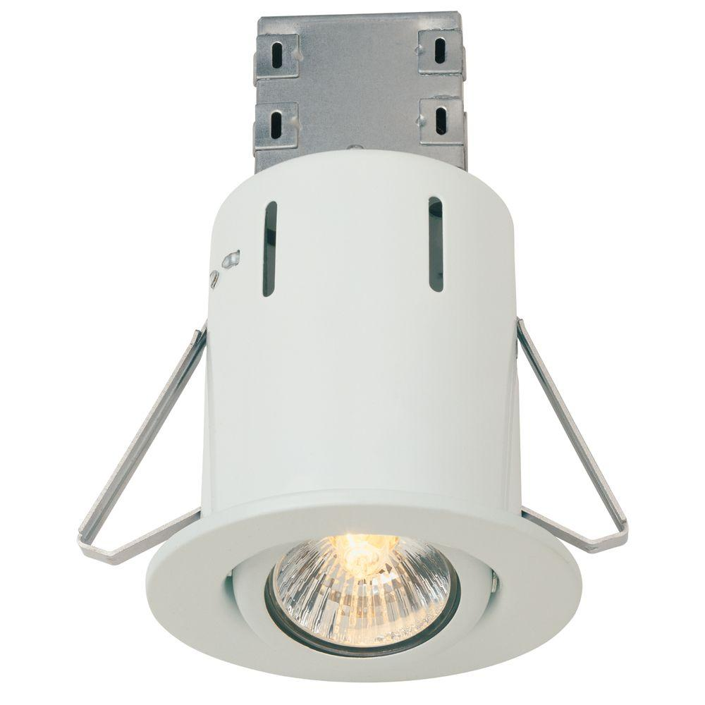 Commercial Kitchen Ceiling Lights: Commercial Electric 3 In. White Recessed Lighting Retrofit