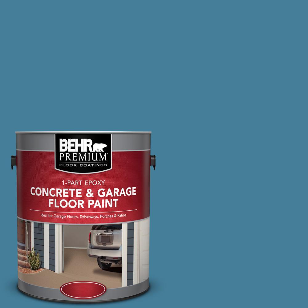 1 gal. #PFC-58 Alpine Sky 1-Part Epoxy Concrete and Garage Floor Paint