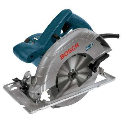 15 Amp 7-1/4 in. Corded Circular Saw with 24-Tooth Carbide Blade