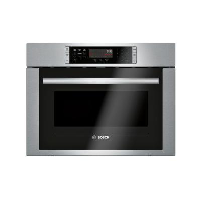 500 Series 24 in. 1.6 cu. ft. Built-in Convection Speed Microwave in Stainless Steel with SpeedChef Cooking