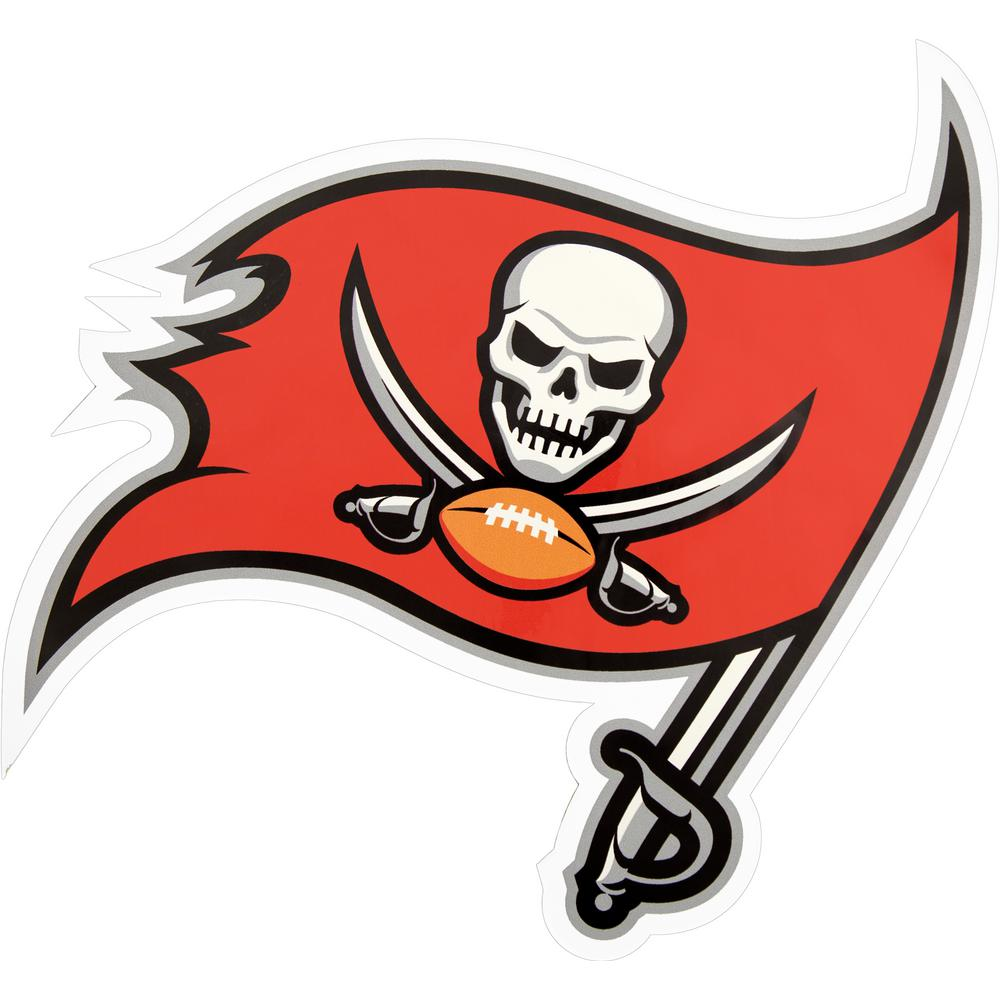 Applied Icon NFL Tampa Bay Buccaneers Outdoor Logo Graphic- Large-NFOP3003  - The Home Depot 21054970541