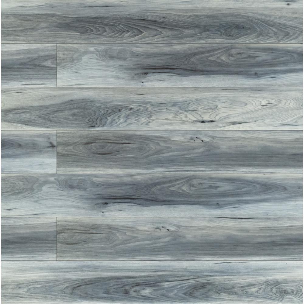 Lock Luxury Vinyl Plank Flooring, Blue Gray Laminate Flooring