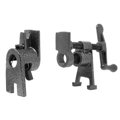 Heavy-Duty 1/2 in. Cast Iron Pipe Clamp Vise for Woodworking