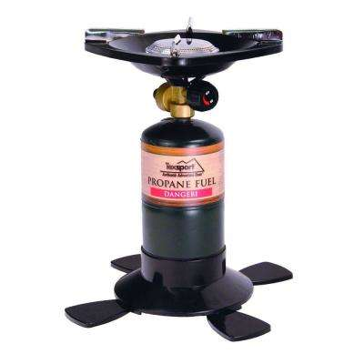 Single Burner Propane Stove Uses 16.4 oz./14.1 oz.
