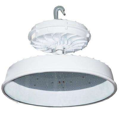 273-Watt White Integrated LED Indoor High Bay with Glass Lens