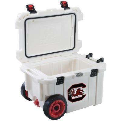 45 Qt. University of South Carolina Gamecocks Elite Wheeled Cooler