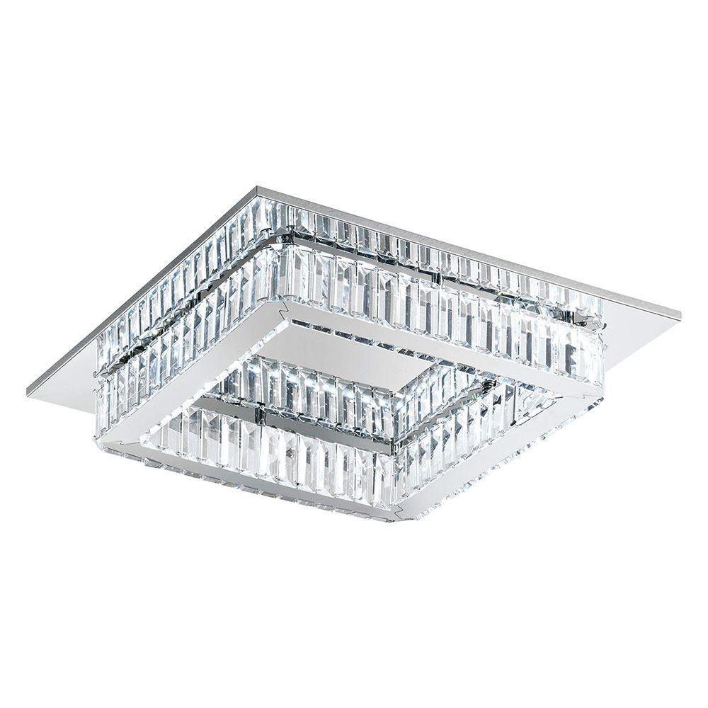 Corliano 8-Light Chrome Integrated LED Ceiling Light