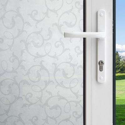 36 in. x 78 in. Privacy Control Botanical Decorative Window Film