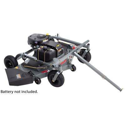 60 in. 14.5-HP 500 cc Briggs & Stratton Electric Start Trail Commercial Pull-Behind Finish Cut Lawn Mower