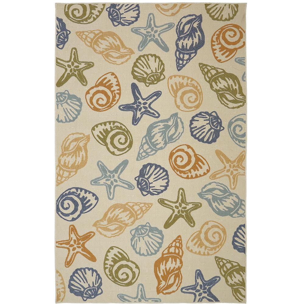 Mohawk Home Seashells Multi 5 ft. x 8 ft. Indoor Area Rug was $82.42 now $65.94 (20.0% off)