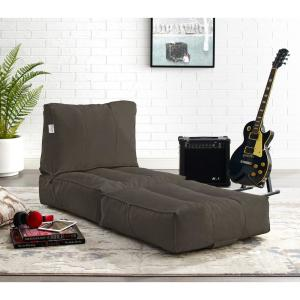 Marvelous Loungie Cloudy Brown Bean Bag Lounger Chair Convertible Andrewgaddart Wooden Chair Designs For Living Room Andrewgaddartcom