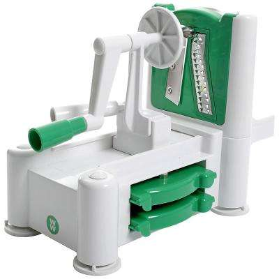 Adderley Spiralizer in Green and White