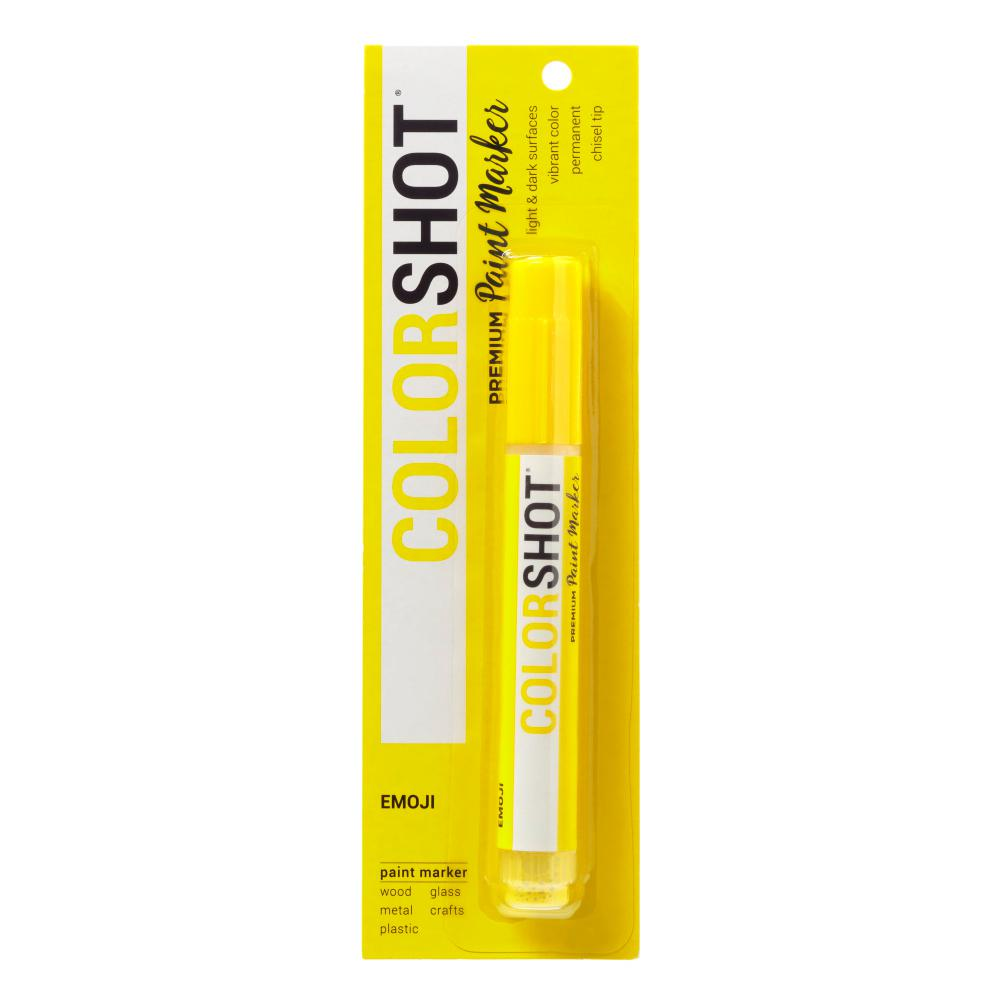 COLORSHOT Emoji Yellow Acrylic Craft Paint Pen