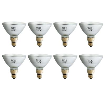 72-Watt PAR38 Halogen Indoor/Outdoor Flood Light Bulb (8-Pack)