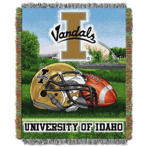 University of Idaho Polyester Throw Blanket