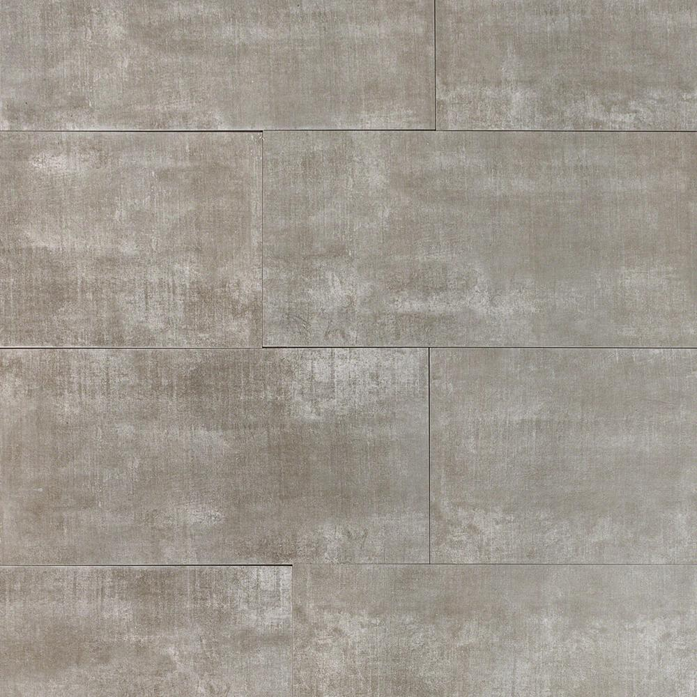 Ivy Hill Tile Essential Cement Dark Gray 12 In X 24 In 10mm