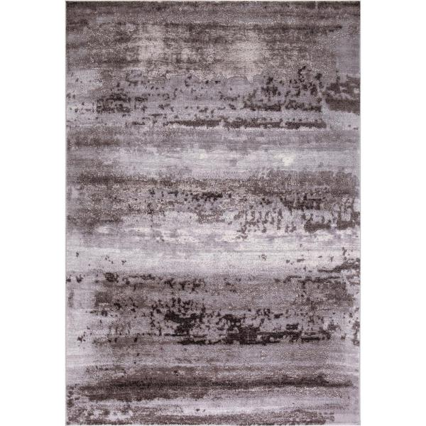 Thema Lakeside Brown 7 ft. x 9 ft. Area Rug