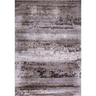 Thema Lakeside Brown 7 ft. 10 in. x 10 ft. 6 in. Area Rug