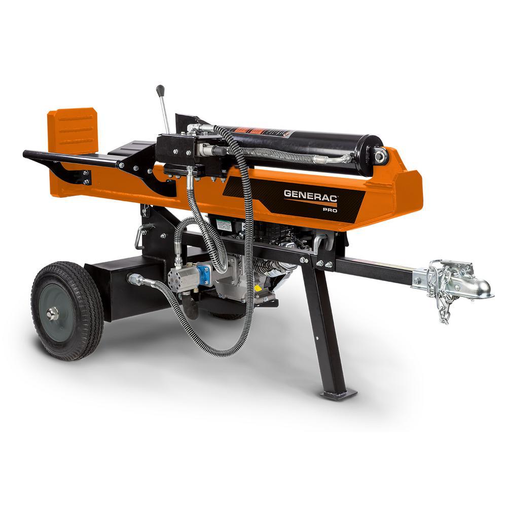 Generac 34-Ton 9.1 HP Gas Horizontal-Vertical Log Splitter