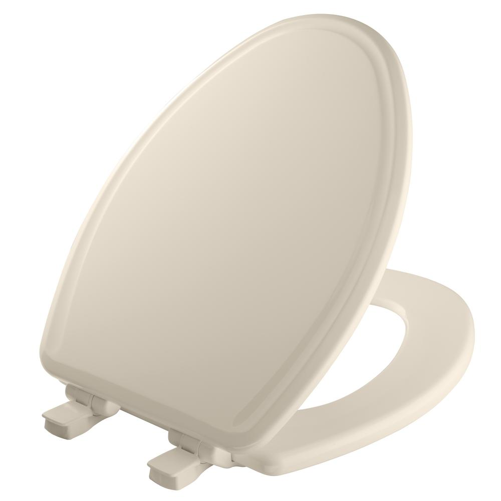 Remarkable Bemis Elongated Closed Front Toilet Seat In Biscuit Ncnpc Chair Design For Home Ncnpcorg