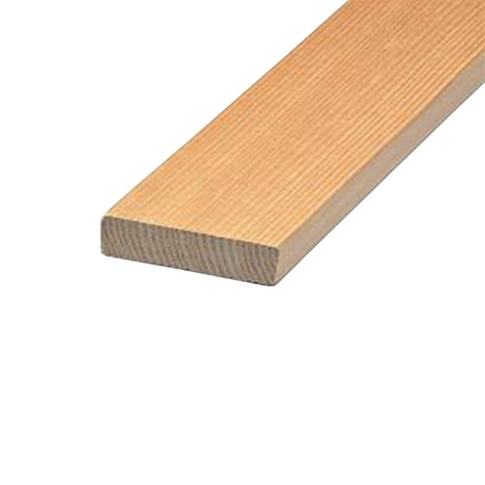 Builders Choice 1 in. x 2 in. x 6 ft. Hemlock Board