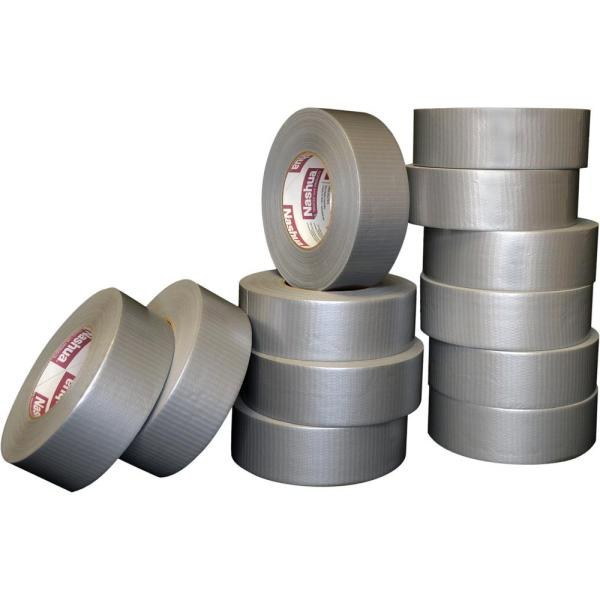 1.89 in. x 60 yd. 394 General Purpose Duct Tape Silver Pro Pack (12-Pack)