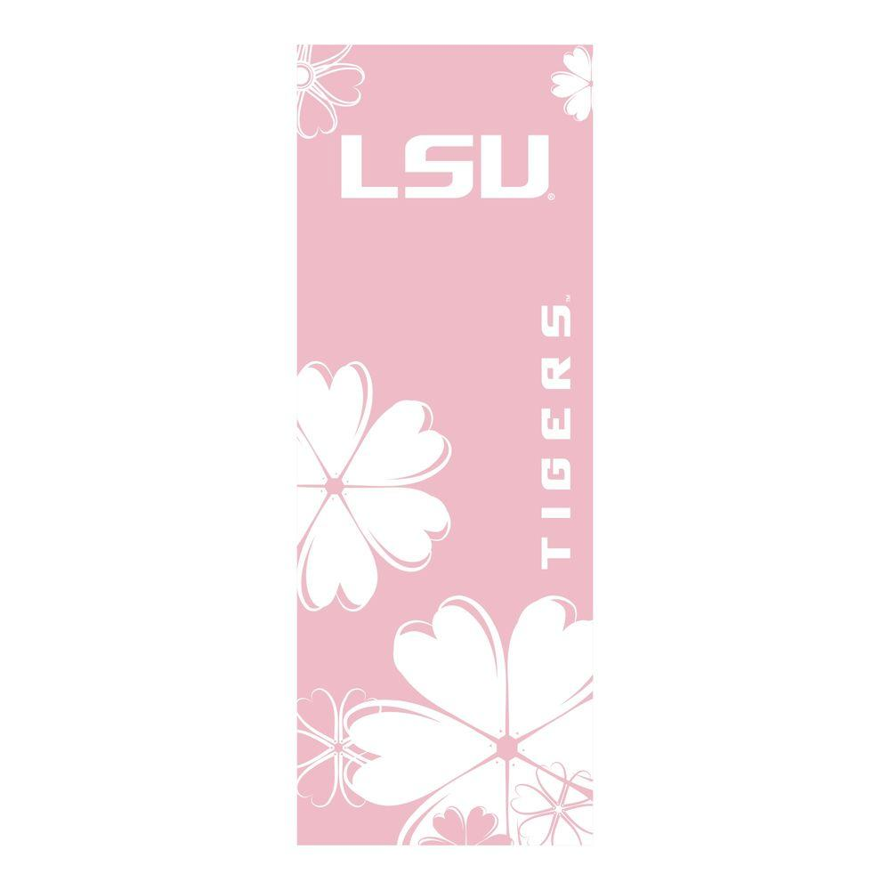 FANMATS Louisiana State University 24 in. x 67.5 in. Yoga Mat-DISCONTINUED