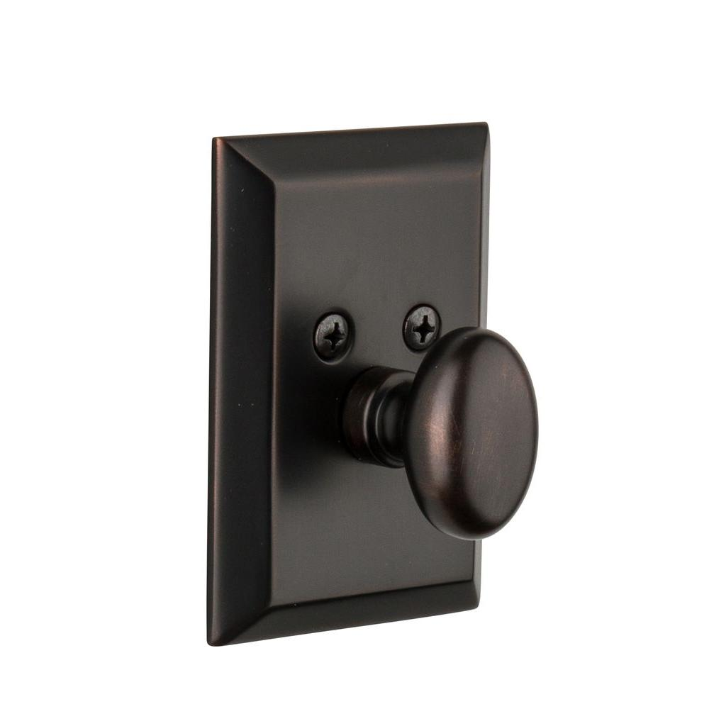 Nostalgic Warehouse Fifth Avenue Timeless Bronze Single Cylinder Deadbolt - Keyed Differently