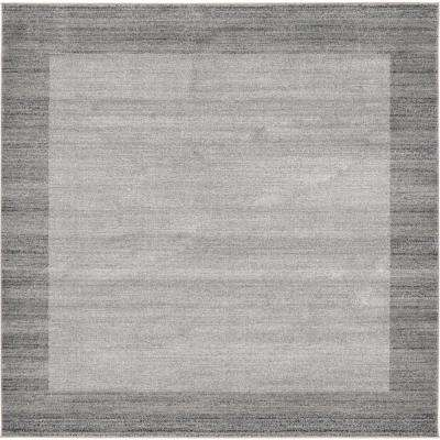 Del Mar Abigail Light Gray 8' 0 x 8' 0 Square Rug