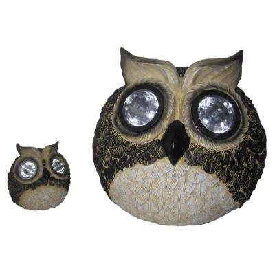 Solar Owl Accent Lights (Set of 2)