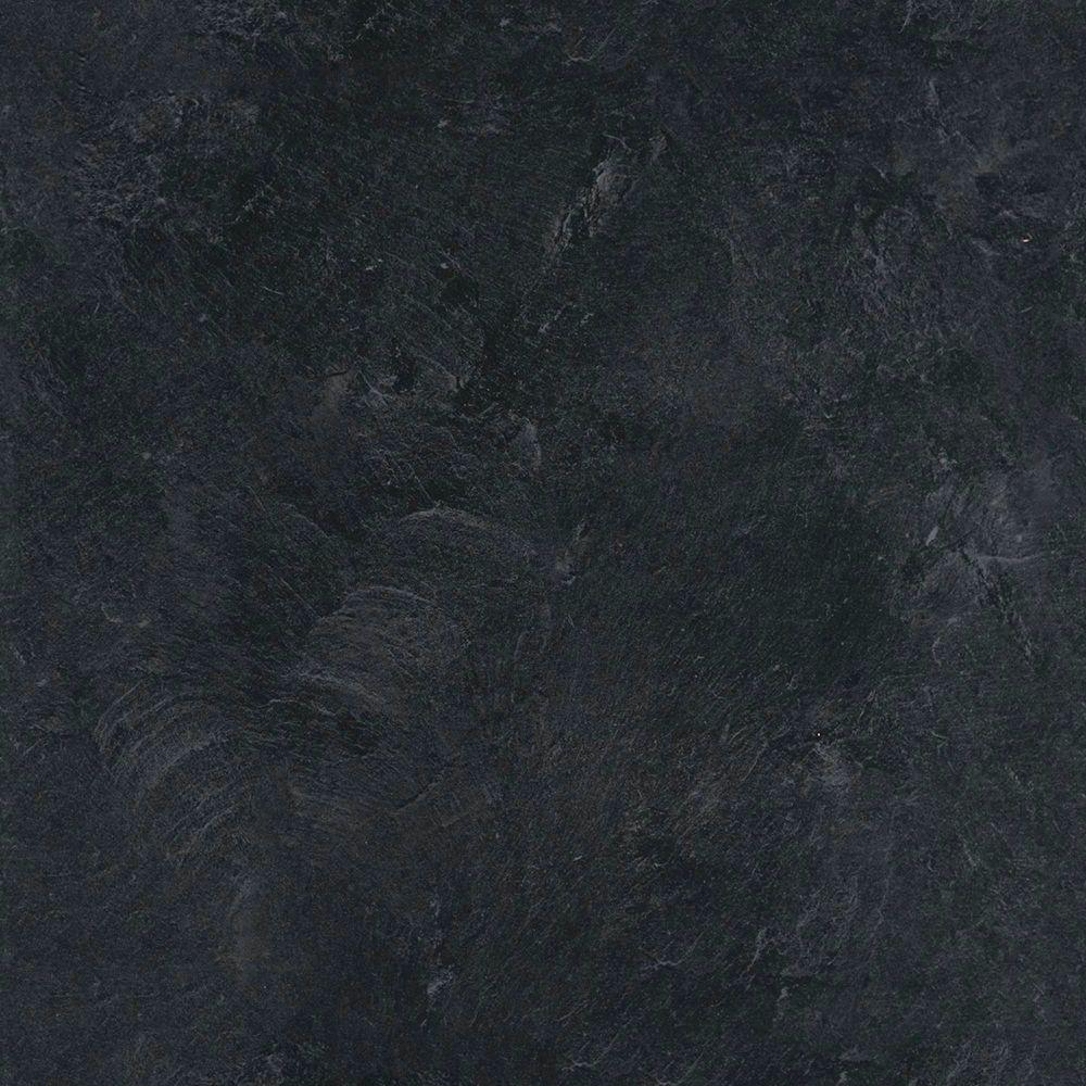 5 in. x 7 in. Laminate Countertop Sample in Basalt Slate