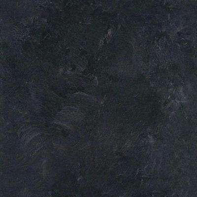 5 in. x 7 in. Laminate Countertop Sample in Basalt Slate with Premiumfx Scovato Finish