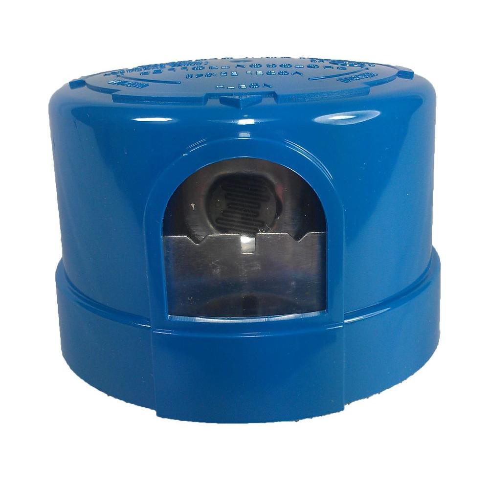 110-277V Heavy Duty Twist-Lock Photocell with Surge Arrestor