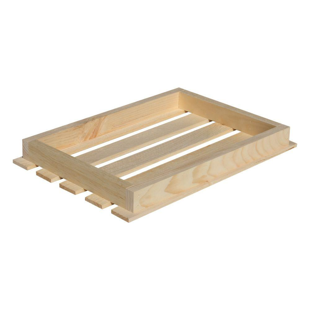 Crates & Pallet 18 in. x 3 in. Natural Pine Crate Lid-67320 - The ...