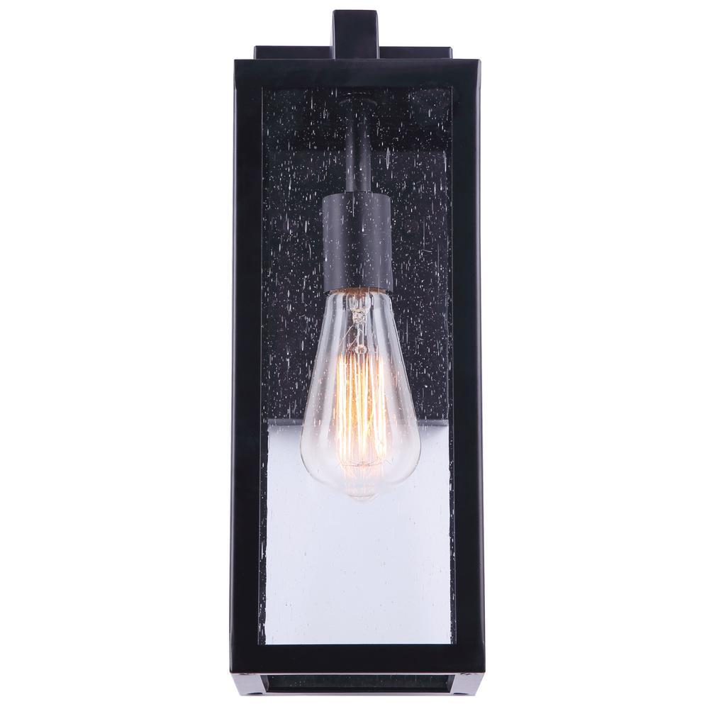 Canarm Newport 1 Light Black Outdoor