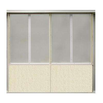 20 sq. ft. Disco Fabric Covered Bottom Kit Wall Panel
