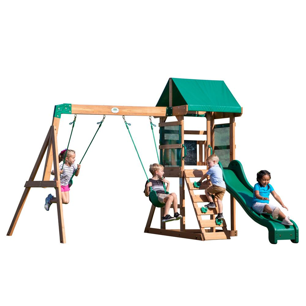Backyard Discovery - Buckley Hill All Cedar Swing Set
