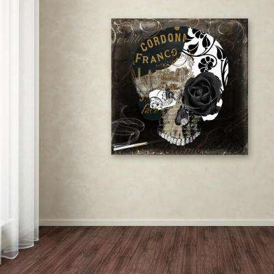 """35 in. x 35 in. """"Paris Halloween II"""" by Color Bakery Printed Canvas Wall Art"""