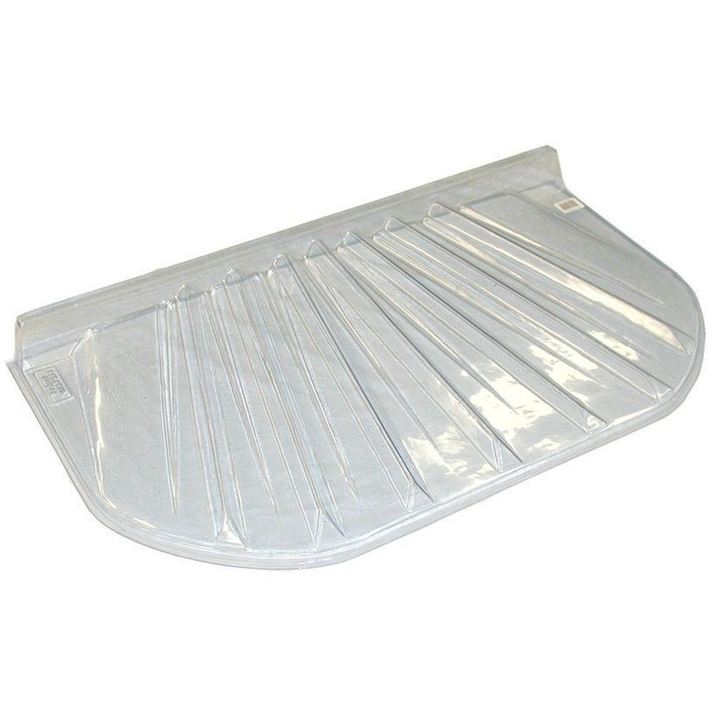 MacCourt 20 in  x 4 in  Polyethylene Elongated Low Profile Window Well Cover