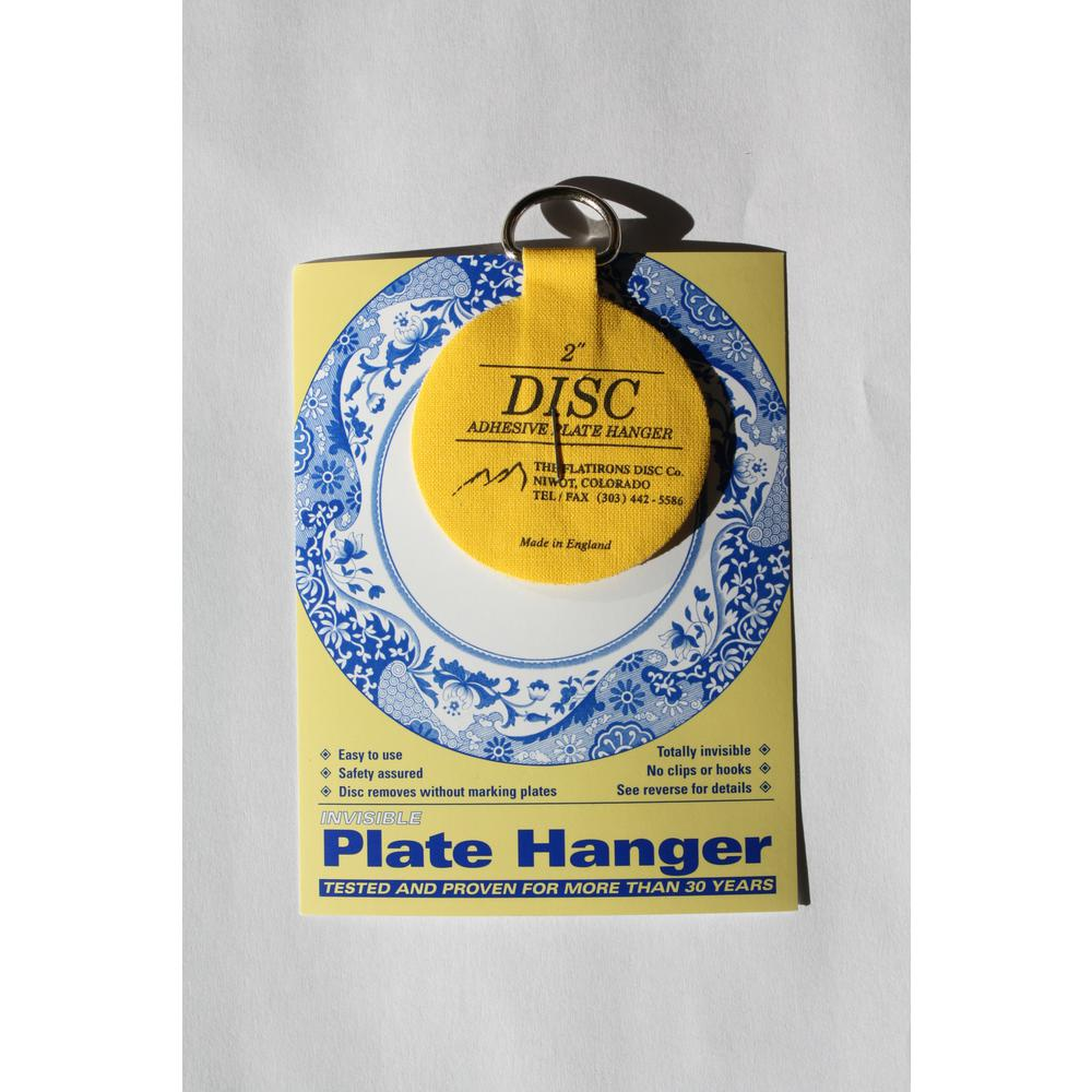 2 in. Invisible Disc Plate Hangers (10-Pack)