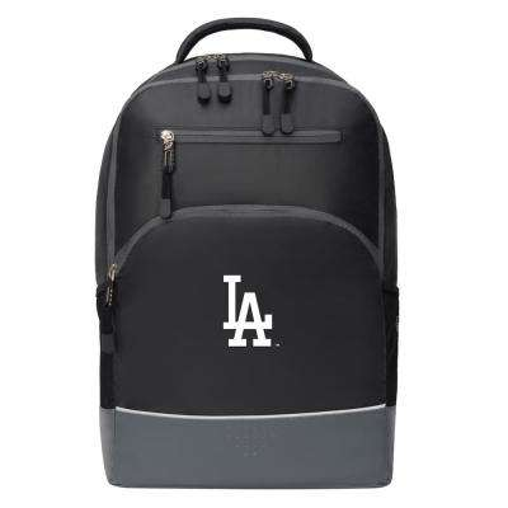Dodgers 19 in. Black Alliance Backpack