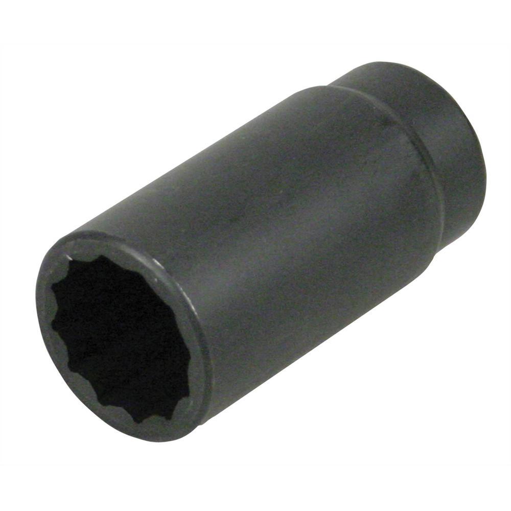 1/2 in. Drive 30 mm Impact Axle Nut Socket