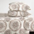 Visionary 4-Piece 200-Thread Count Organic Cotton Percale Full Sheet Set