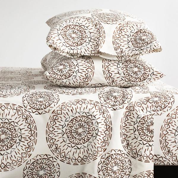 Visionary 3-Piece 200-Thread Count Organic Cotton Percale Twin XL Sheet Set